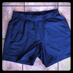 Lululemon T.H.E Shorts Navy Linerless Size Large